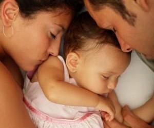 coppia dopo nascita bebè